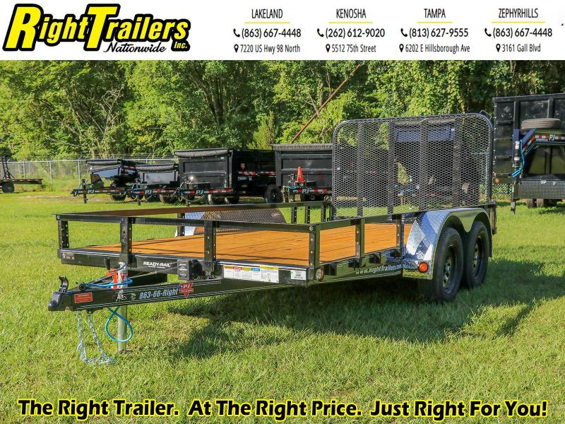 7X14 PJ Trailers 83 in. (UL) Utility Trailer