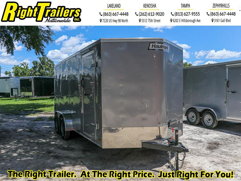 7X16 Haulmark Enclosed Cargo Trailer