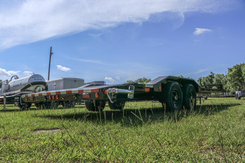 8X22 PJ Trailers 5 in. Channel Buggy Hauler (B5) Equipment Trailer