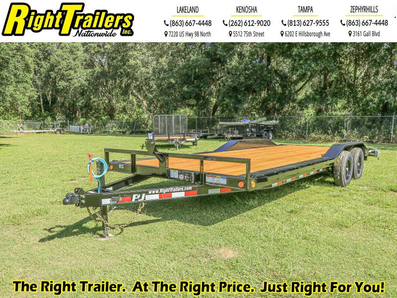 8X22 PJ Trailers 5 in. Channel Buggy Hauler (B5) Equipment Trailer