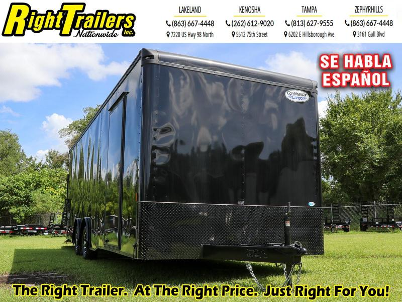8.5X24 Continental Cargo Enclosed Trailer