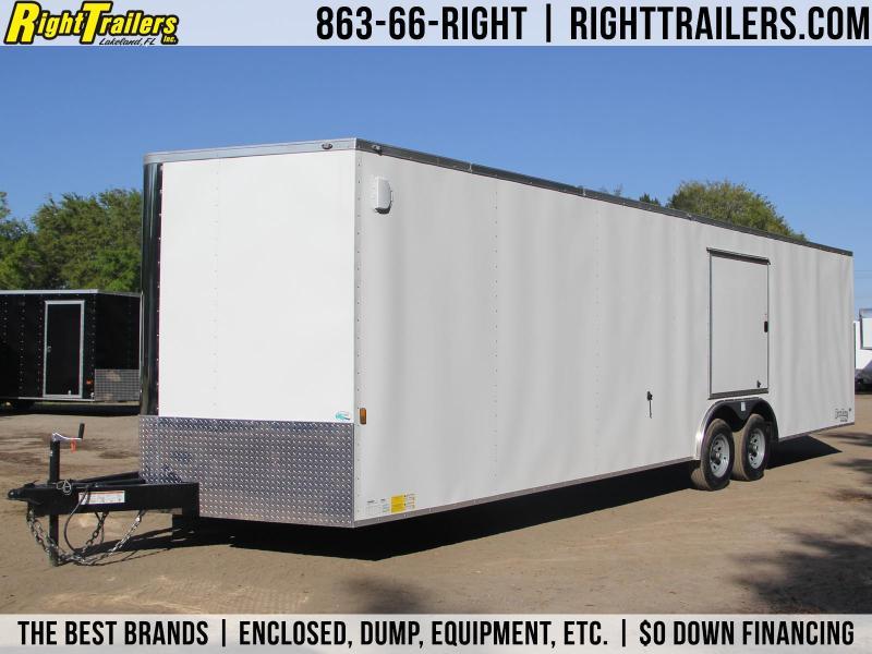 8x28 Continental Cargo | Enclosed Trailer