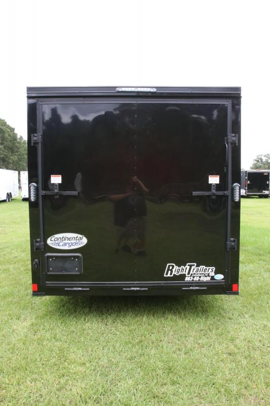 7x14 Continental Cargo | Enclosed Trailer ( Black Out Package )