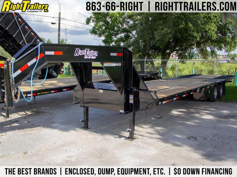 8.5x32 Lamar Trailers | Equipment Trailer [Hydraulic Dovetail]