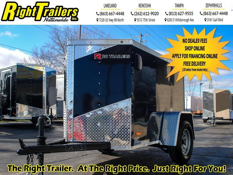 4x6 RC Trailers I 3K GVWR Enclosed Cargo Trailer