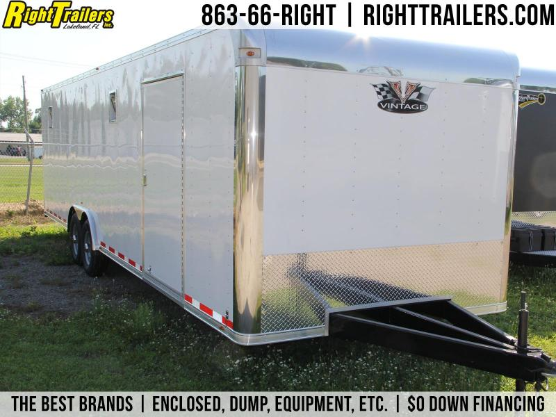8.5x28 Vintage Outlaw | Race Car Trailer