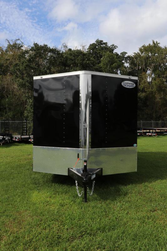 8.5x16 Continental Cargo | Enclosed Trailer