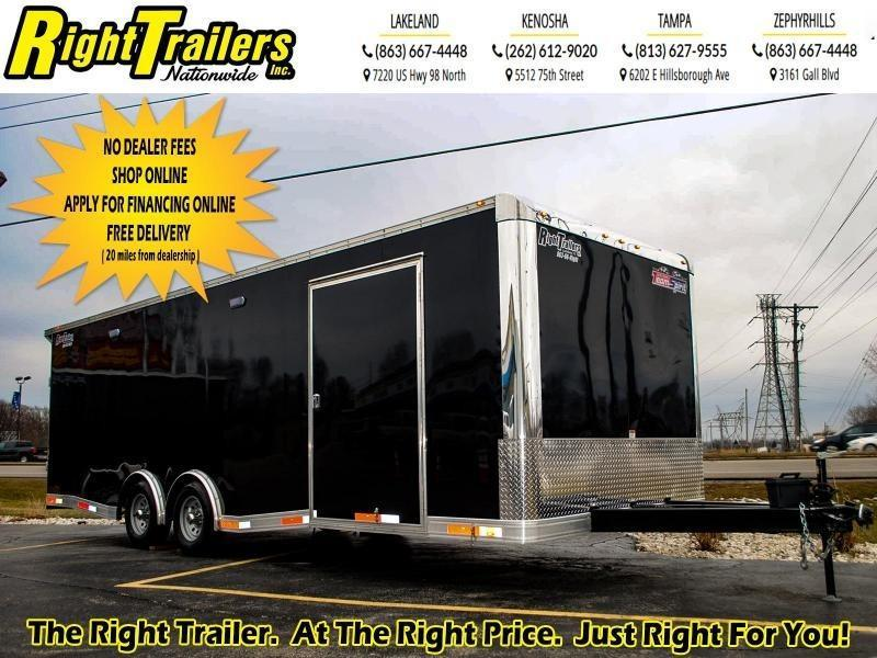 8.5x24 Team Spirit Custom Trailers | Car / Racing Trailer