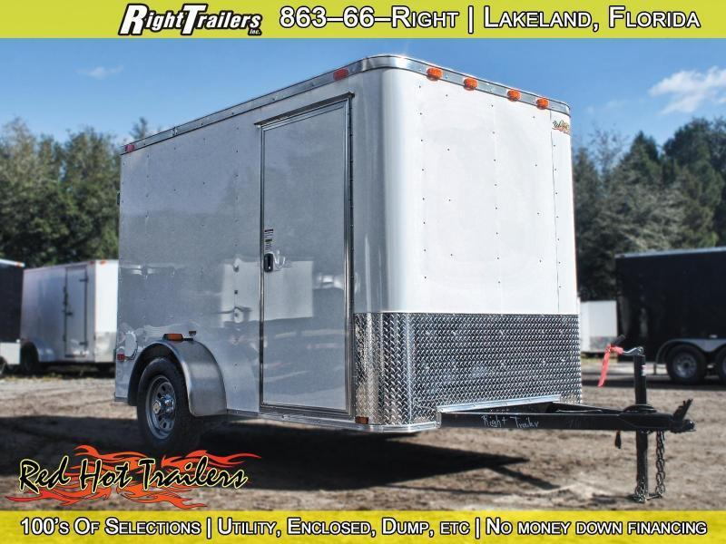 6x10 Red Hot Trailers | Enclosed Trailer [Advanced]