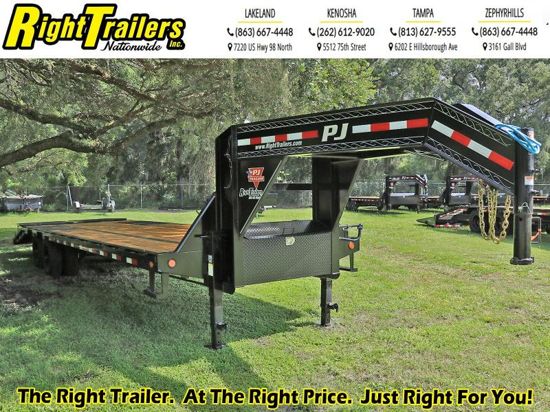 8.5X30 PJ Trailers Low-Pro Flatdeck with Duals (LD) Flatbed Trailer