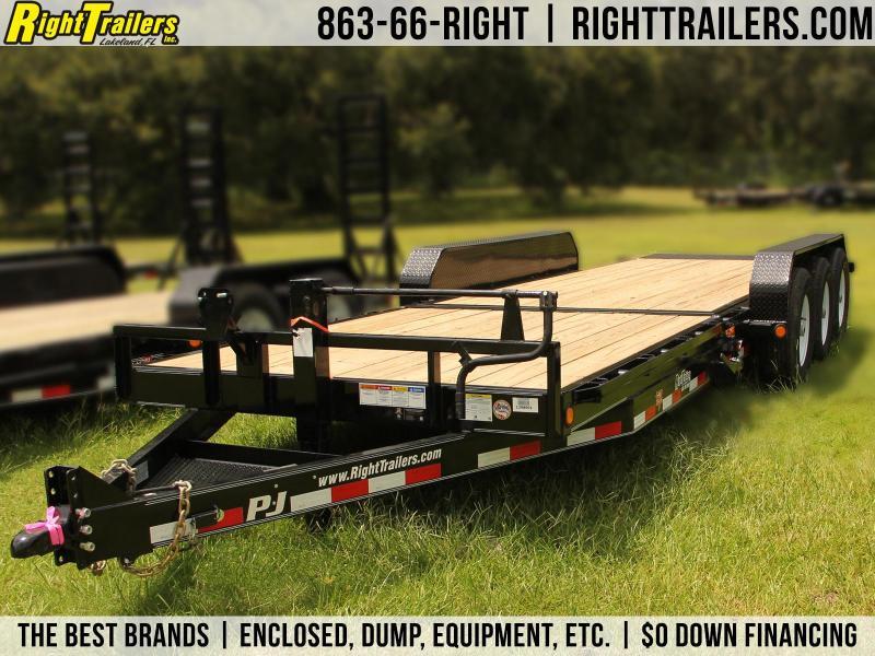 7x24 PJ Trailers   Equipment Trailer [Tilt Deck]