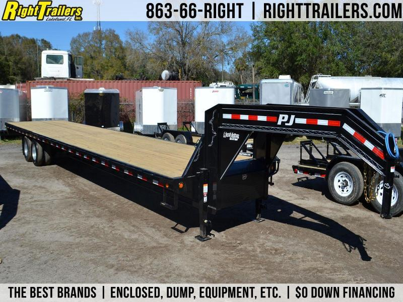 8.5x40 PJ Trailers | Gooseneck Equipment Trailer