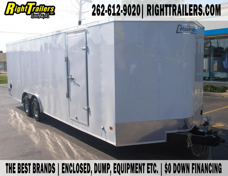 8.5X24 Haulmark I Enclosed Trailer