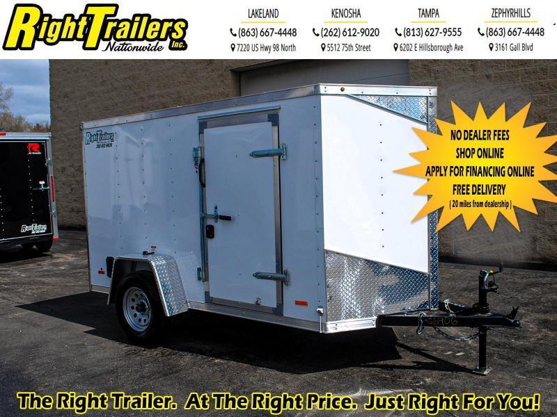 2020 RC Trailers 5 x 10 3K Enclosed Cargo Trailer