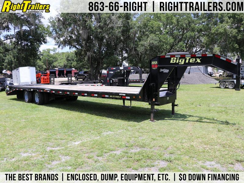 8.5x35 USED Big Tex | Gooseneck Equipment Trailer