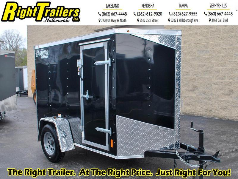 5X8 RC Enclosed Cargo Trailer