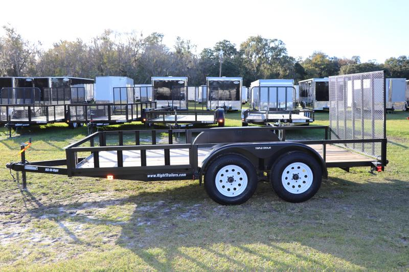 7x14 Red Hot Trailers | Utility Trailer