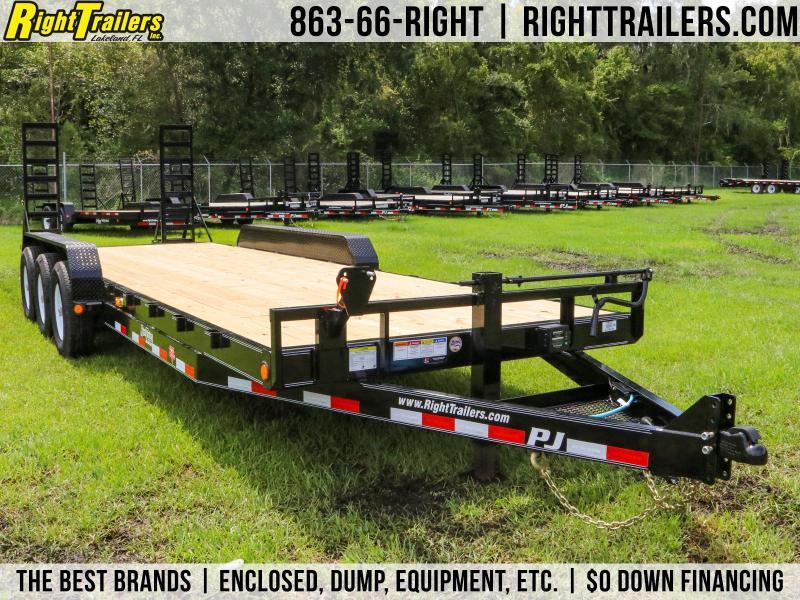 7x24 PJ Trailers   Equipment trailer