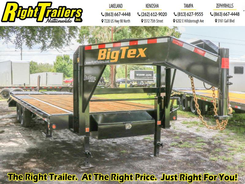 14GN-20+5 Big Tex Trailers I Equipment Trailer