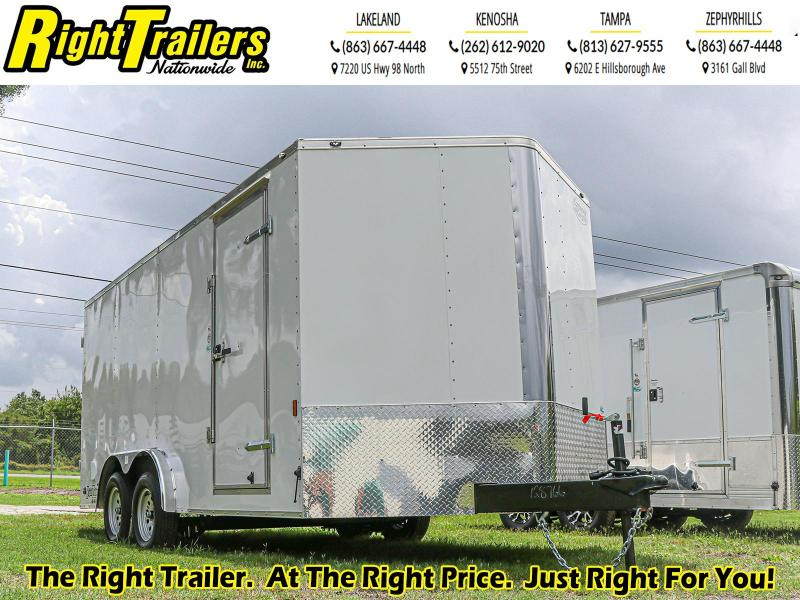 8X16 Continental Cargo I Enclosed Cargo Trailer