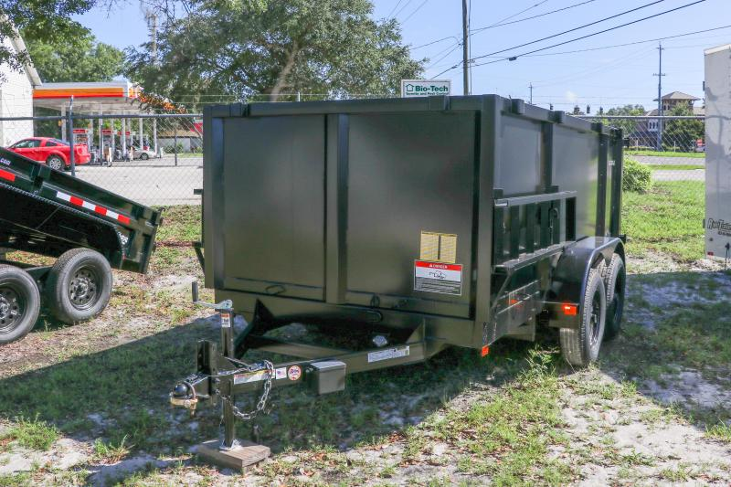 6x12x4 Red Hot Dump Trailer