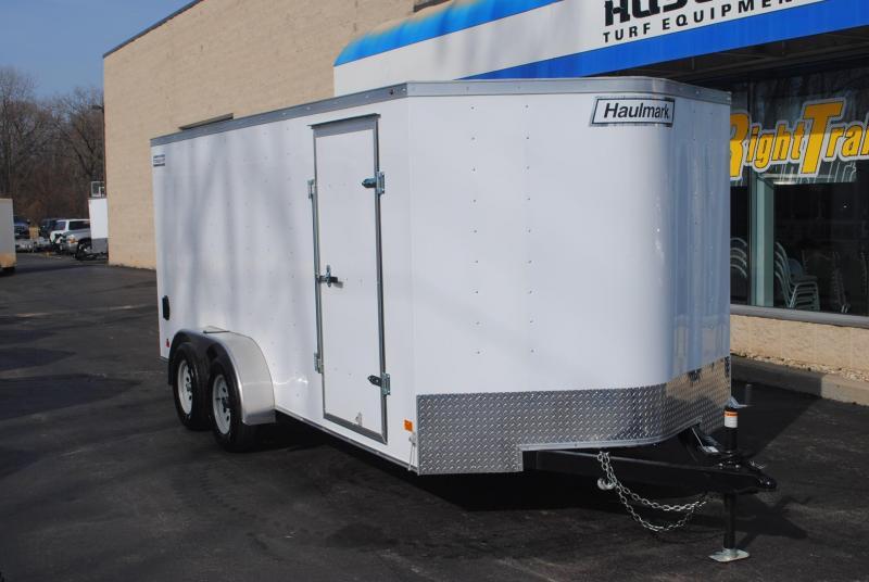 7x16 Haulmark   Enclosed Trailer