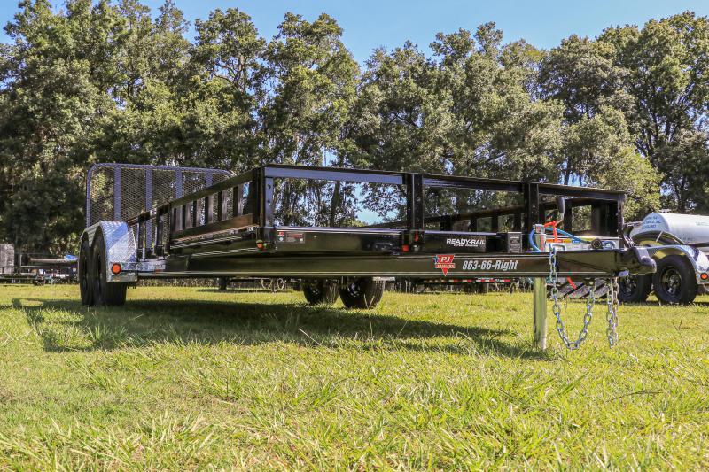 7X20 PJ Trailers I (UL) ATV Tandem Axle Channel Utility