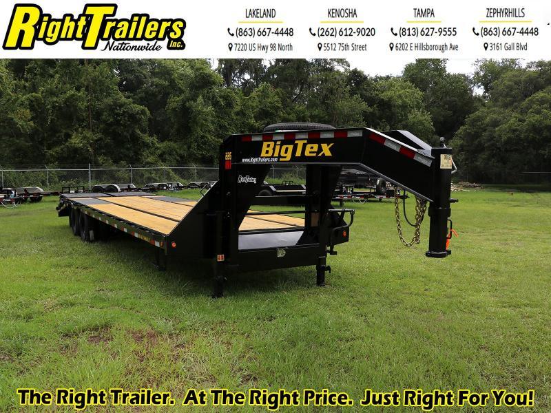8.5x30 Big Tex Equipment Trailer