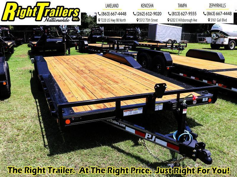 8.5x22 PJ Trailers 5 in. Channel Buggy Hauler (B5) Equipment Trailer