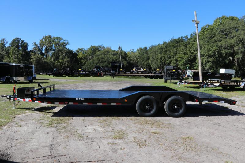 8.5x22 PJ Trailers Steel Bed | Equipment Trailer