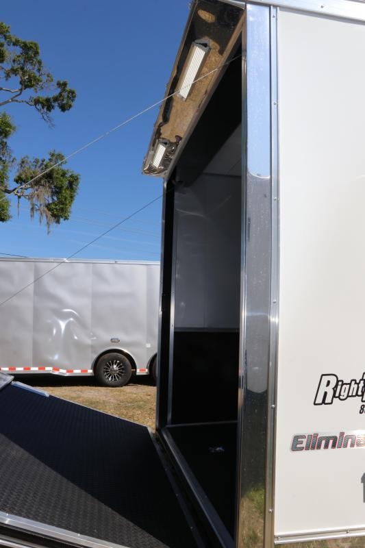 8.5x34 Continental Cargo | Enclosed Racing Trailer
