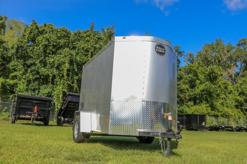 5X8 Wells Cargo I Enclosed Cargo Trailer