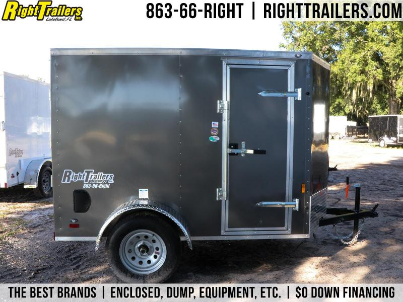 5X8 Forest River I Enclosed Trailer