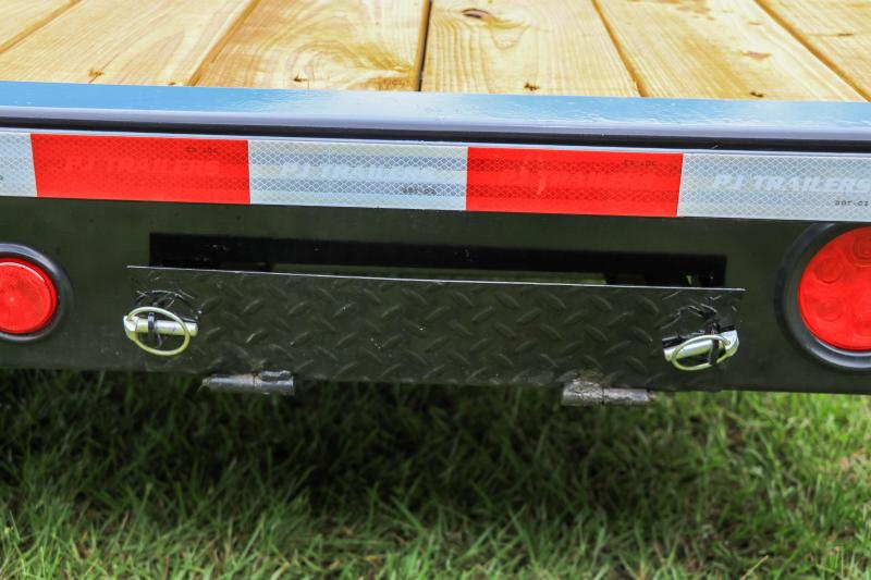 8.5X40 PJ Gooseneck Equipment Trailer