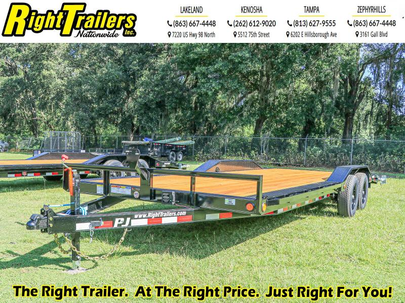 7X22 PJ Trailers I Car Hauler