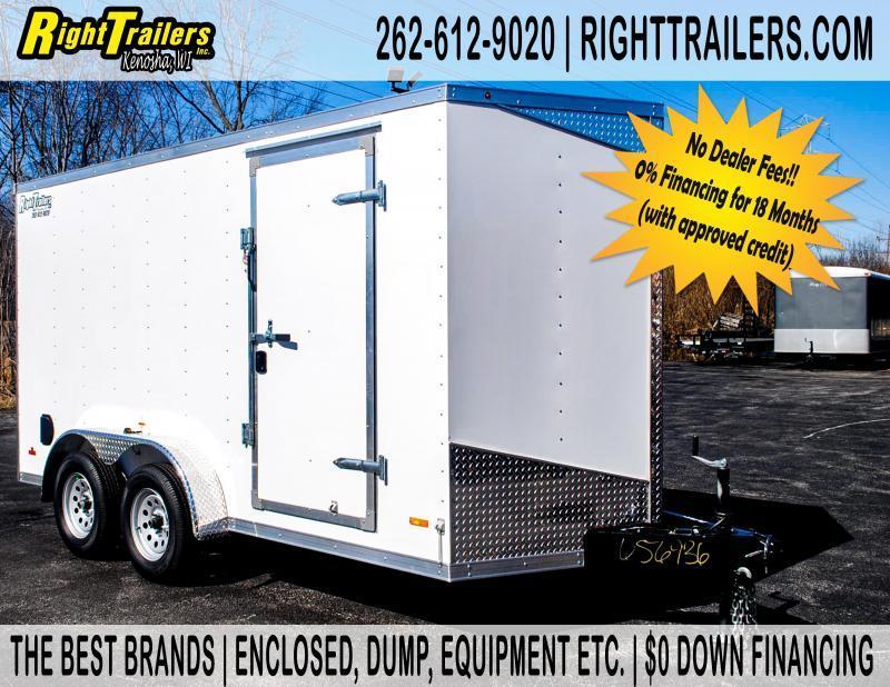 7X14 RC Trailers RDLX Enclosed Cargo Trailer