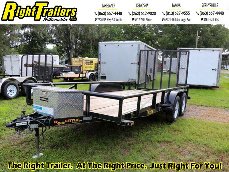 USED-2018 Doolittle Utility Trailer