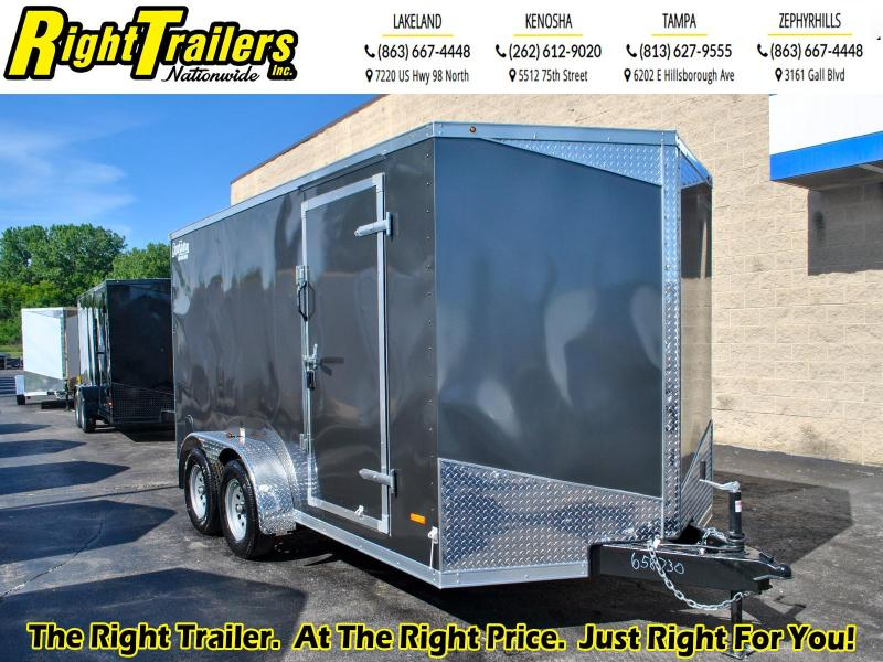 7 x 14 RC Trailers  7K Tandem Axle Enclosed Cargo Trailer