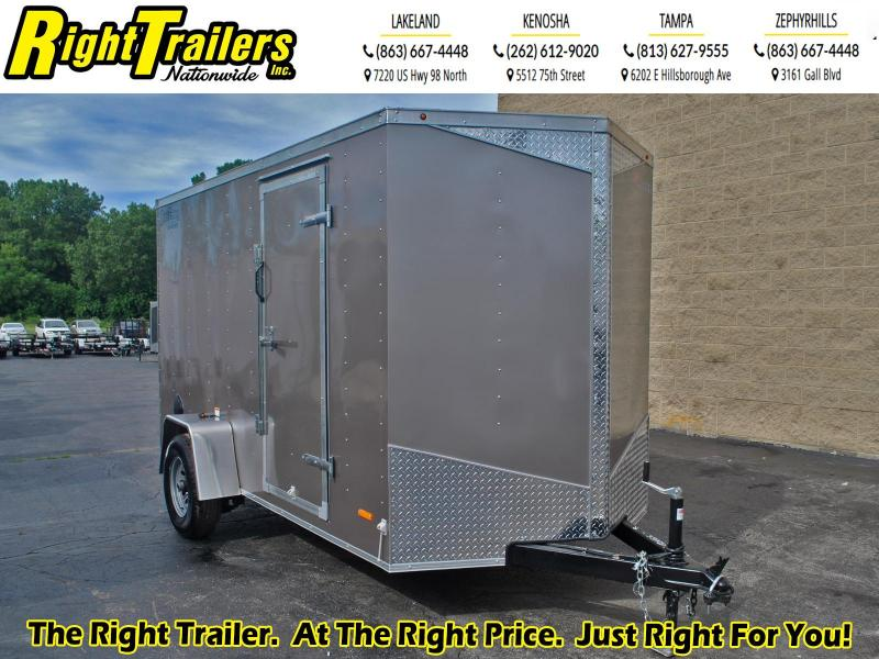 6X12 RC ENCLOSED TRAILER