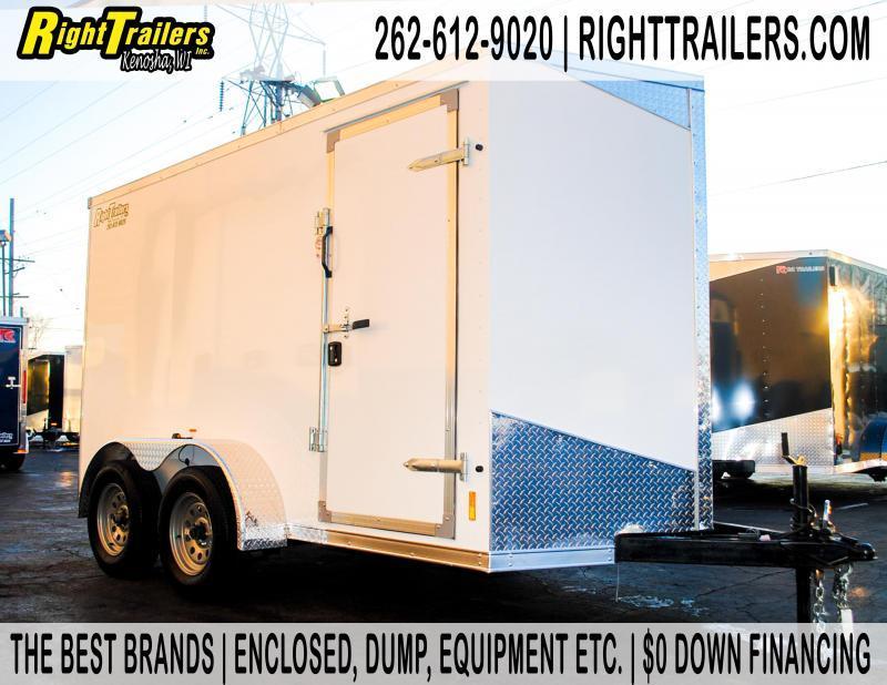 6X12 RC Enclosed Cargo Trailer
