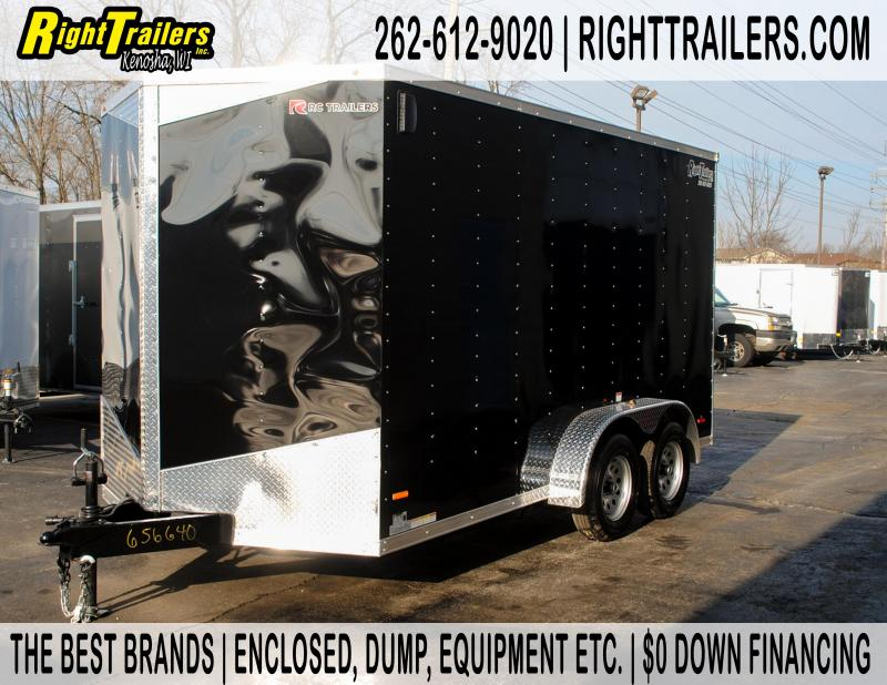 7x14 RC Trailers | Enclosed Trailer