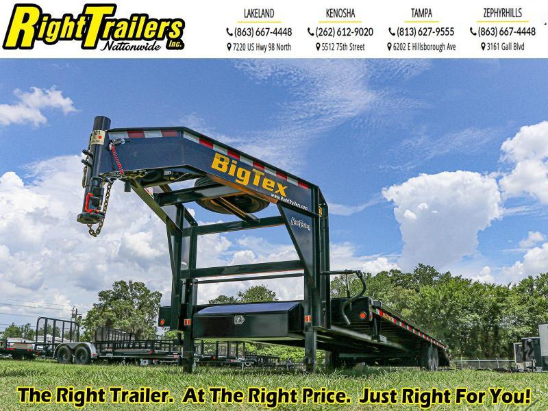8.5x33 (22+10) Big Tex Equipment Trailer