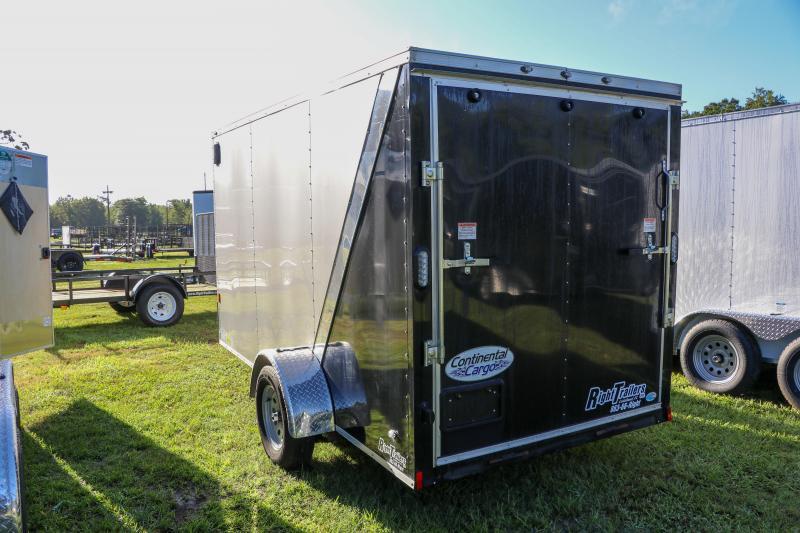 USED 6X12 Continental Cargo I Enclosed Cargo Trailer
