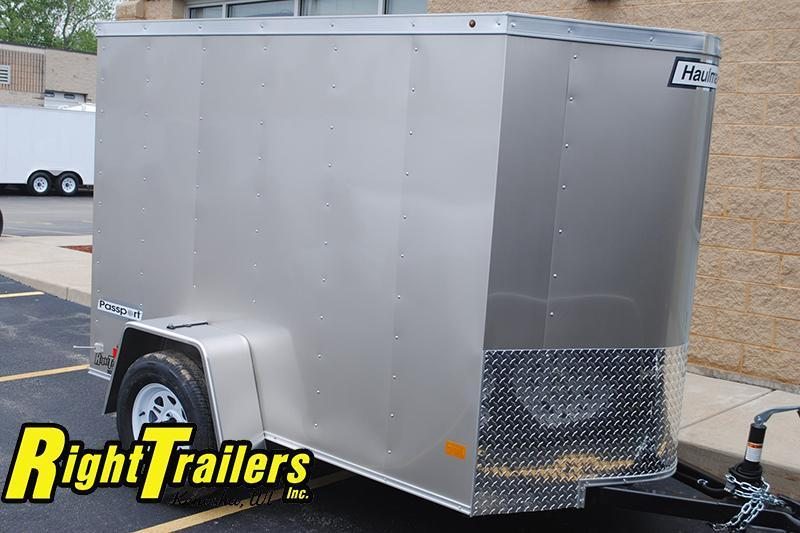 5x8 Haulmark | Enclosed Trailer [Silver Frost]