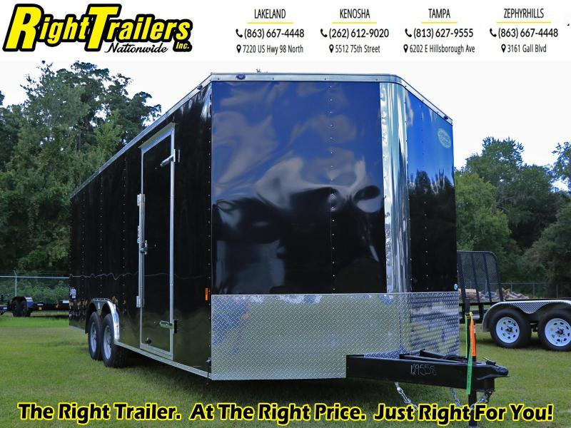8.5X20 Continental Cargo. I Enclosed Cargo Trailer
