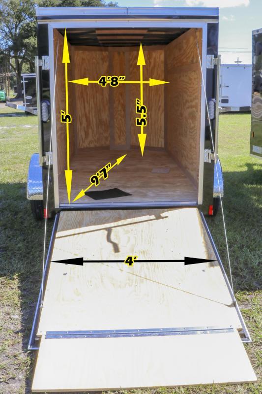 5x10 Continental Cargo | Enclosed Cargo Trailer