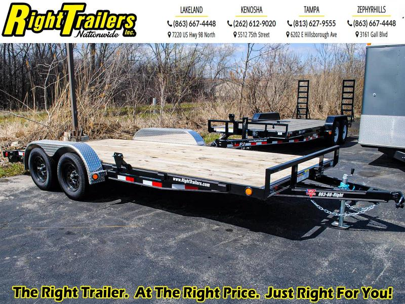 7x18 PJ Trailers I Car / Racing Trailer