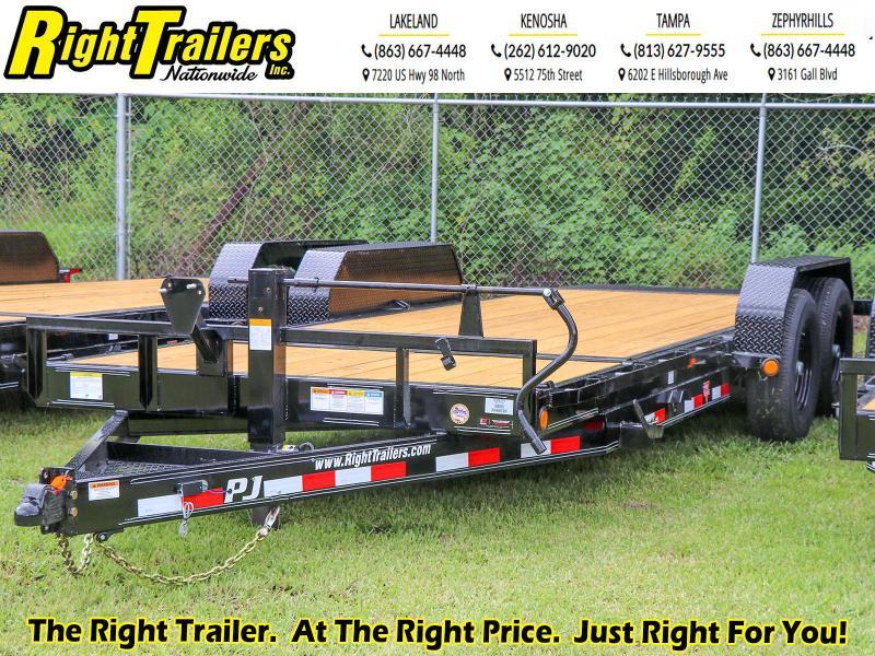 7X20 TILT PJ Trailer I Equipment Trailer