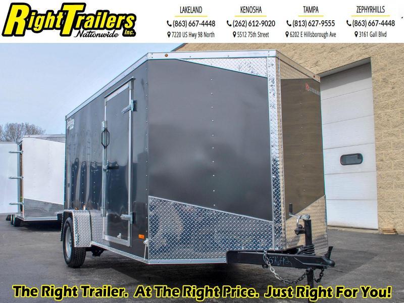 7x12 RC Trailers I Enclosed Cargo Trailer