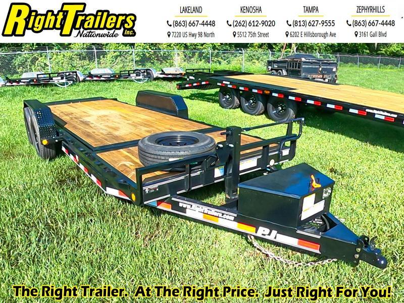 7x20 Tilt Deck PJ Equipment Trailer